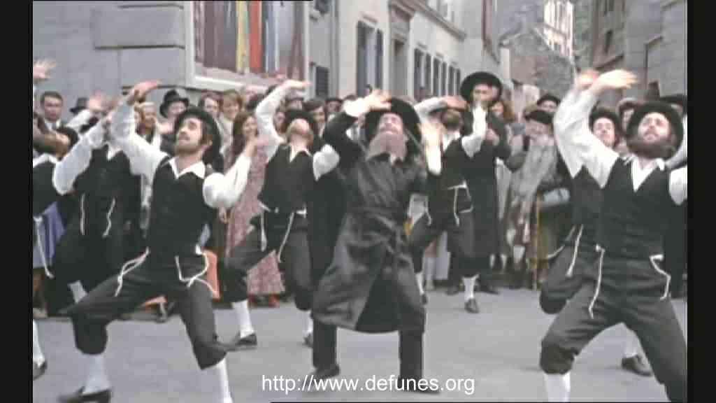 Les aventures de rabbi jacob for Dans rabbi jacob